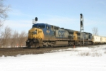 CSX 9024 comes west on 2
