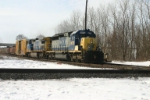 CSX 8079 is eastbound