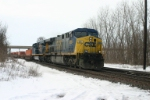 CSX 688 is on the move