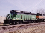 BNSF 2808 - Broadside View