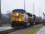 CSX 260 Leading a Herzog Train