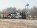 Easbound Nickel Plate fast freight