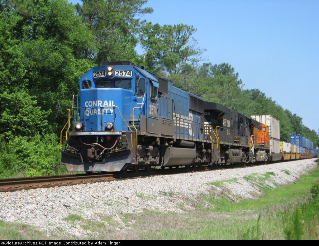 NS 2574 on NS 209