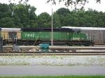 BNSF 7842