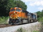 BNSF 6090 on NS 210