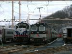 New Jersey Transit 4408 & Metro North 4184