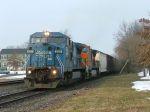 NS 8360 & BNSF 5107