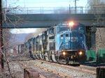 CSX 8750 Leads Nine Diesel Consist