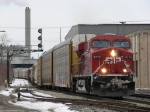 CP 8775 passing under the Godfrey Ave signal bridge with X500-05