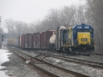 D700-12 returning to Wyoming Yard with 31 cars from Holland and points west