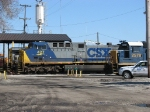 CSX 427 sitting outside the house