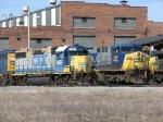 CSX 2697 & 328