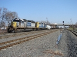 CSX 8418 and 8049