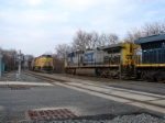 CSX 378 and UP 7611