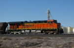 BNSF 7648 in Action