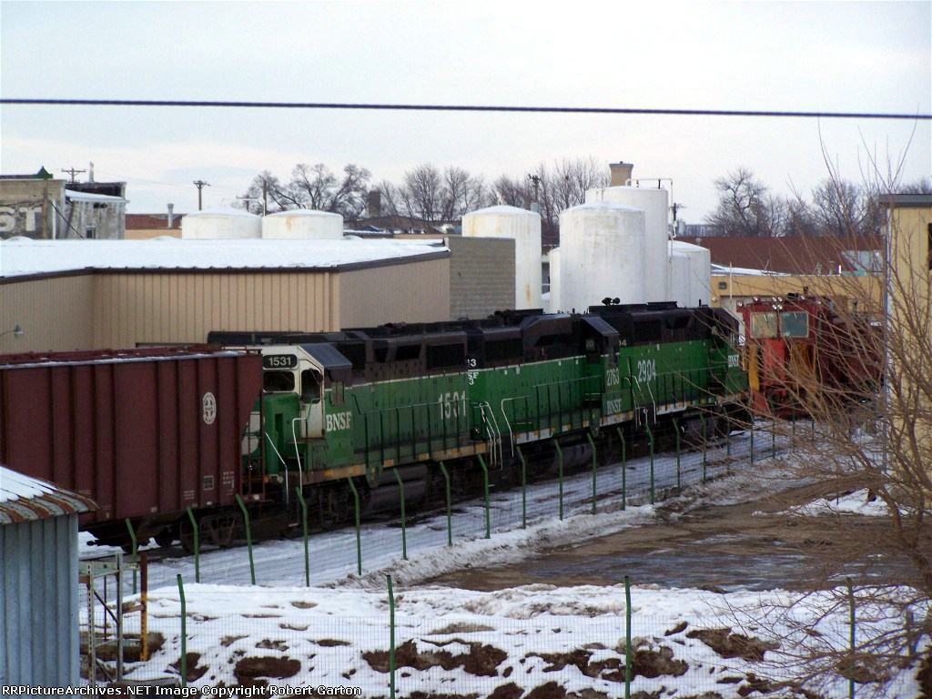 Three Geeps and A Snow Plow
