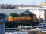 BNSF 2312 Sits in the Yard