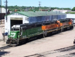 BNSF 2031: I've Caught this one 3 Times Now: In Clinton, IA, Chicago, IL & Sioux Falls, SD