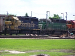 Two Rebuilt GP35's Help Move Freight at Falls Park