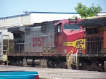 BNSF 4701 Basks in the Hot July Sun