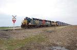 CSX 6356, UP 2682, & UP 4983