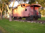 Old Wood Caboose