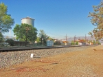SP Water Tower and Station at Tehachapi