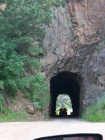 old rock tunnel on Phantom Canyon Road