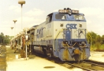 CSX 3008 in the fuel rack