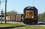 CSX 4303 with Train A781-04 backs off the Edgar Spur
