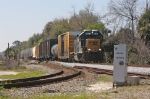 CSX 4303 Leads A781-04 and 13 cars north