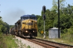 CSX Q613 by the south end of the siding