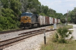 CSX Q741-05 Empty Juice train moments before a collision with a car 2 miles south of here