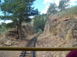 riding on the Cripple Creek and Victor