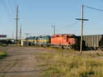 Ex CP Rail SD40-2 now on DM&E