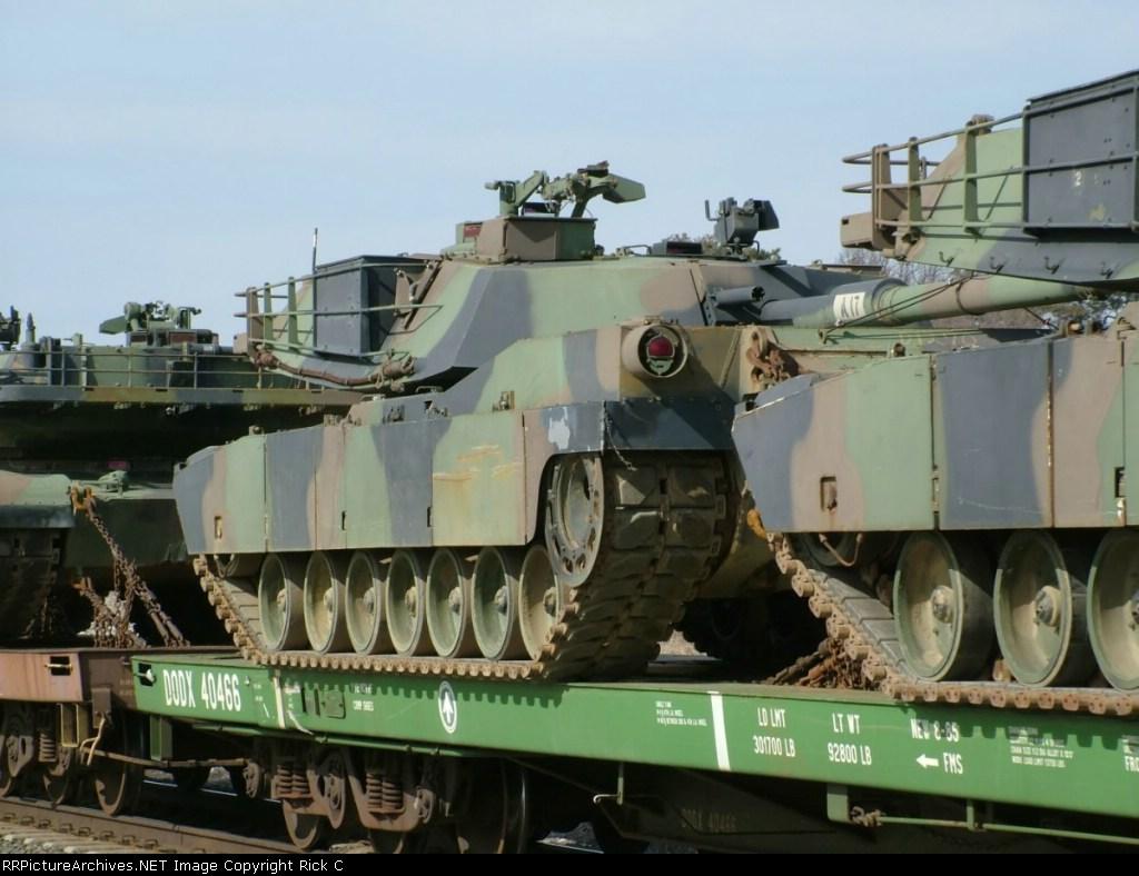 DODX 40466 - Close Up Of Tank
