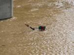 Flooded BNSF Cuba Sub trackage