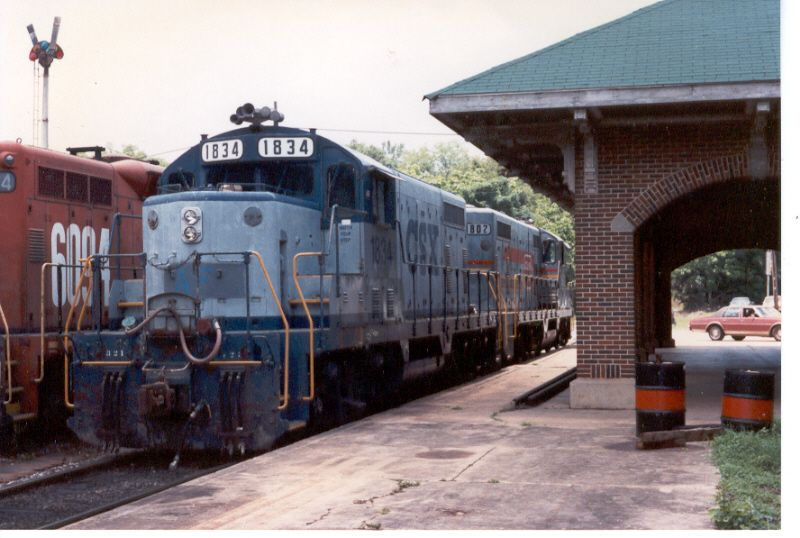 Shortly after AFLR received the former CSX Units