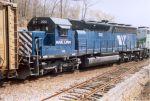 MRL SD45-2 302 (ex-CSX/SBD/CRR)