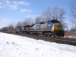 CSX 7909 at Attridge Rd