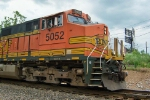 The nose of BNSF 5052