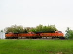 BNSF 5800, 5882, and 6122