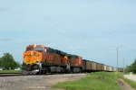 BNSF 6118 and BNSF 5608