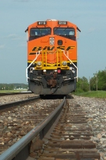 the face of BNSF 6118