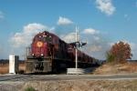Arkansas & Missouri train crossing