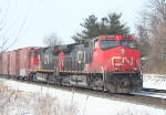 CN 2578, one in a long line of Eastbounds that don't seem to be going anywhere