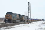 Westbound stacks take the home signal