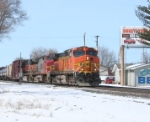 Three old BNSF paint jobs
