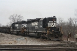 Westbound SD40-2's on the Wabash