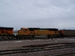BNSF 9909 is Showing Some Wear and Tear